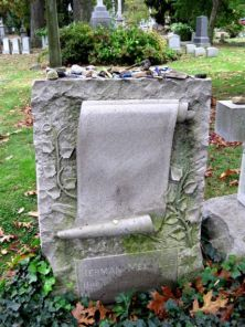 herman-melville_s-grave-front