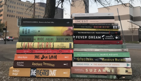 Best Translated Book Award 2018 Fiction Longlist